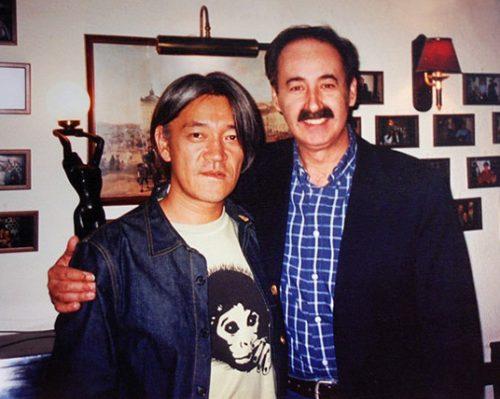 Ryuichi Sakamoto and Mário Pacheco