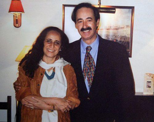 Maria Bethânia and Mário Pacheco