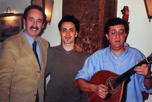 Mário Pacheco, Nuno Bettencourt and Rui Veloso
