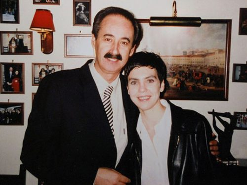 Mário Pacheco and Adriana Calcanhotto