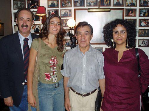 Mário Pacheco, Marta Pereira da Costa, António Chainho and Marta Dias