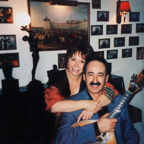 Isabel Allende and Mário Pacheco