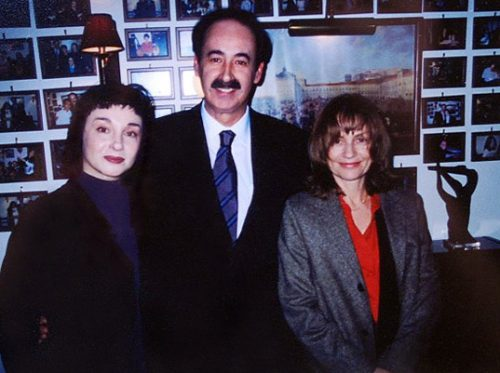 Mísia, Mário Pacheco and Isabelle Huppert