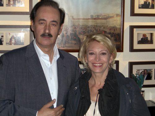 Mário Pacheco and Béatrice Agenin