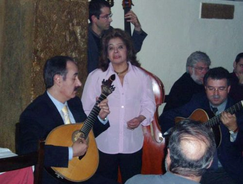 Mário Pacheco and Angela Maria
