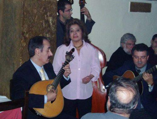 Mário Pacheco and Angela Maria