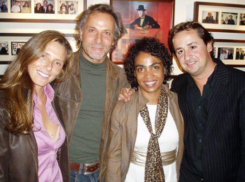 Sofia Cerveira, Milo, Catarina and Miguel Capucho