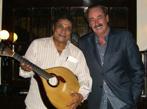 Eusébio and Mário Pacheco