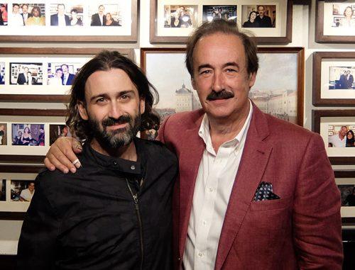 Javier Limón and Mário Pacheco